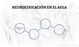 Copy of NEUROEDUCACIÓN EN PRIMARIA