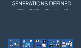 GENERATIONS DEFINED