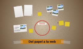 Del papel a la web