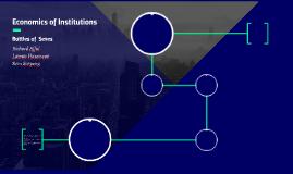 Economics of Institutions
