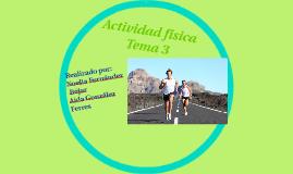 Tema 3: Actividad física y Salud