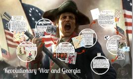 Copy of Copy of American Revolutionary War and Georgia