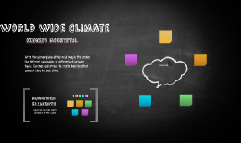 world wide Climate