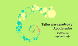 Copy of Taller para padres y Apoderados