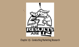 Marketing-Chapter29-Conducting Marketing Research
