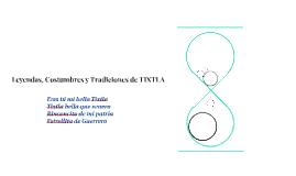 Leyendas, Costumbres y Tradiciones de TIXTLA