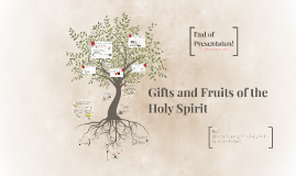 Copy of GIfts and Fruits of the Holy Spirit- Grade 8 Religion Presentation