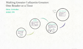 Making Greater Lafayette Greater: