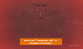 Copy of American Revolution and the Mexican Revolution