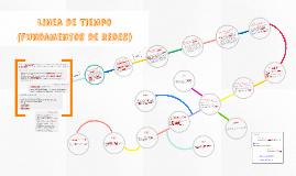 Linea de Tiempo (fundamentos de redes)
