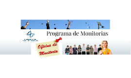 Programa de Monitorias