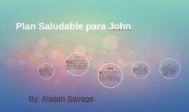 Plan Saludable para John