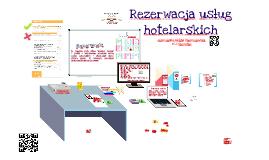 Rezerwacja usług hotelarskich