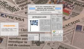 T3 NEGOCIOS : RESCATE FINANCIERO DE GRECIA