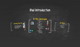 iPad Introduction