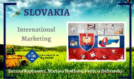 Slovakia - International Marketing
