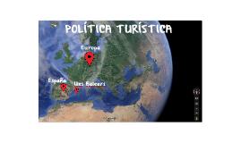 POLITICA TURISTICA