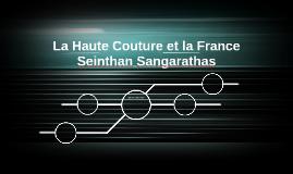 La Haute Couture et la France