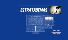 ESTRATAGEMAS