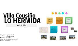 Villa Cousiño