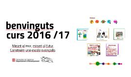 Reunió famílies curs 2016 /17