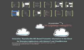 MS-SIG 2013 - Galaxy-P and CloudBioLinux