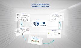 COLEGIO DE PROFESIONALES EN INFORMÁTICA Y COMPUTACIÓN