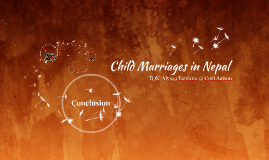 Child Marriages in Nepal (TOK)