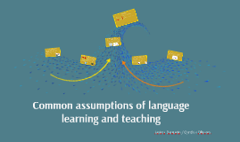 Copy of Common assumptions of language learning and teaching