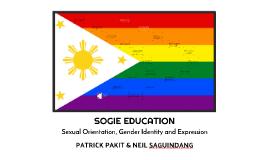 SOGIE EDUCATION