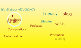 Copy of School libraries, advocacy and social media
