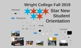 Star New Student Orientation, Fall 2019 (New Portal)