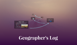 Geographer's Log