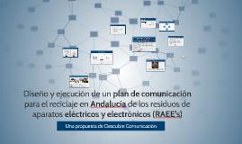 Presentación RAEE's Comisión