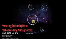 Promising Technologies for Post-Secondary Writing Success