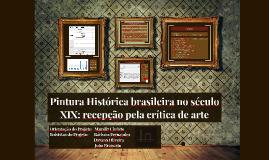 Pintura Histórica brasileira no século XIX: recepção pela cr