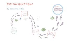Transport Teams in the NICU