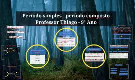 Período simples - período composto