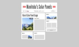Manitoba's Solar Panels