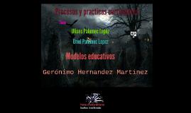 Procesos y practicas curriculares