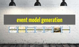 event model generation
