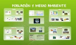 POBLACIÓN Y MEDIO AMBIENTE