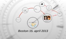 Boston 15 april 2013