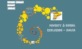 Poverty & Social Exclusion - Malta