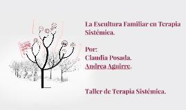 Escultura Familiar en Terapia Sistemica
