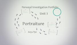 Personal Investigation Portfolio
