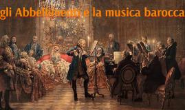 gli Abbellimenti e la musica barocca