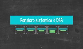 Pensiero sistemico e DSA
