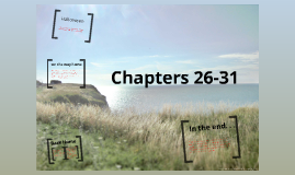 Chapers 26-31
