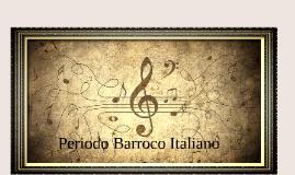 Periodo Barroco Italiano
